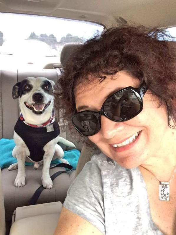 Radcliff and I On Our Way to the North Port Canine Club, Fla. #RadcliffSelfie