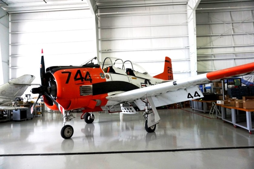 One of the Warbirds that Will Participate in the Florida International Air Show's WARBIRD Review.