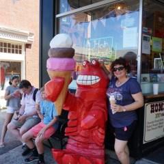 Loving Lobster in Bar Harbor, Maine