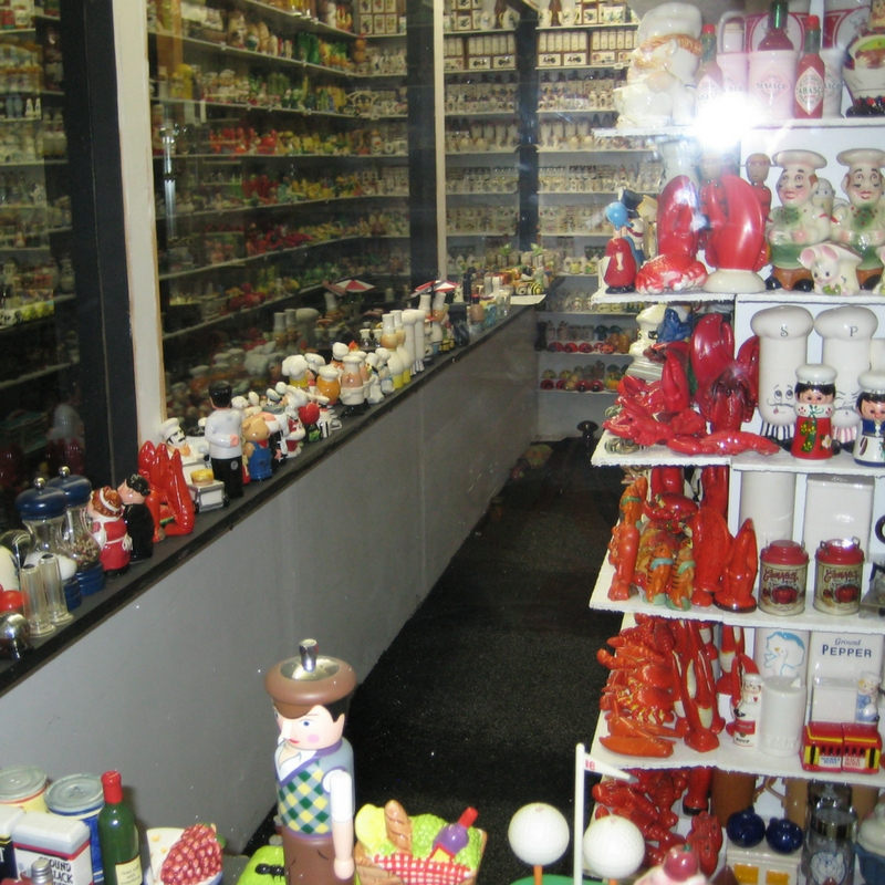 Some of the More than 20,000 Pair of Salt & Pepper Shakers at this Quirky Gatlinburg Attraction, Salt and Pepper Shaker Museum