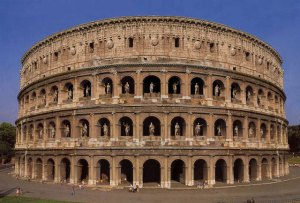 Colosseum in Ancient Rome
