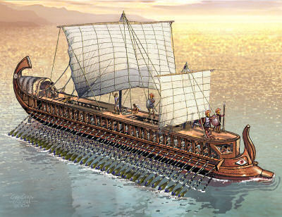 Greek Triremes – The Ultimate Fighting Machines