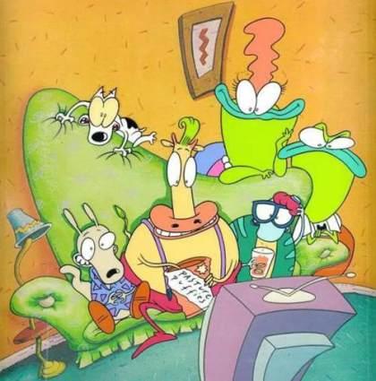 Desenhos animados anos 90 - Rocko's Modern Life