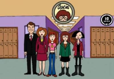 Desenhos animados anos 90 - Daria