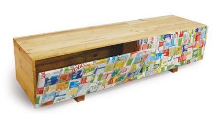 Móveis reciclados - Rack de TV ou aparador