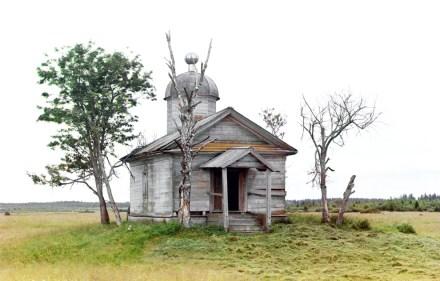 Capela russa fotografada em 1909