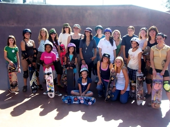 skate-board-girls
