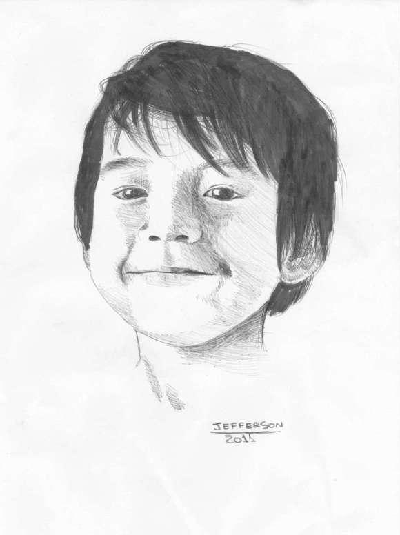 Desenho de face