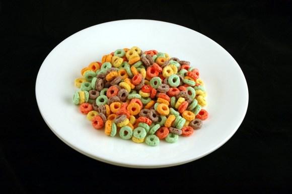 51 gramas de cereal Fruit Loops