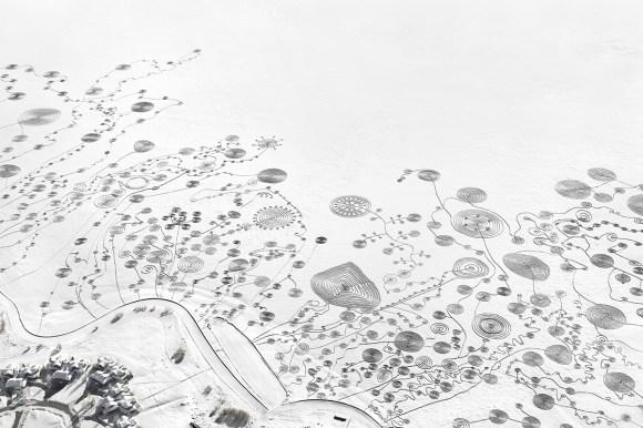 Desenho na neve 3
