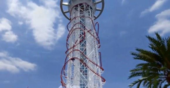 Faça um passeio virtual pela maior montanha-russa do mundo, com mais de 150m de altura
