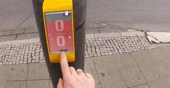Semáforo permite que você jogue Pong com quem está do outro lado da rua