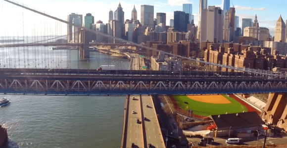 Vídeo aéreo captado por um drone mostra Nova York como você nunca viu