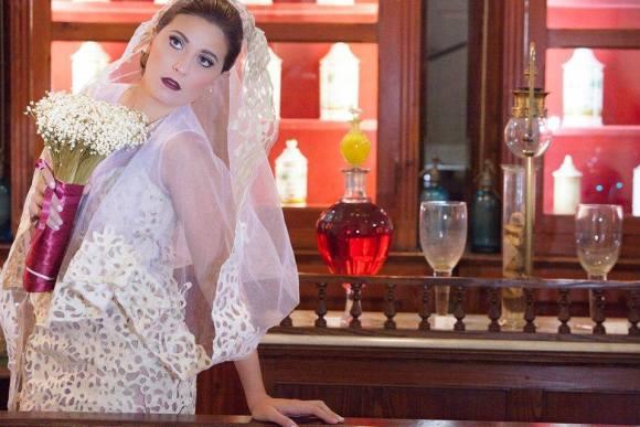 Vestidos de noiva com sacos de cimento 3