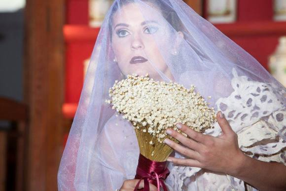 Vestidos de noiva com sacos de cimento 8