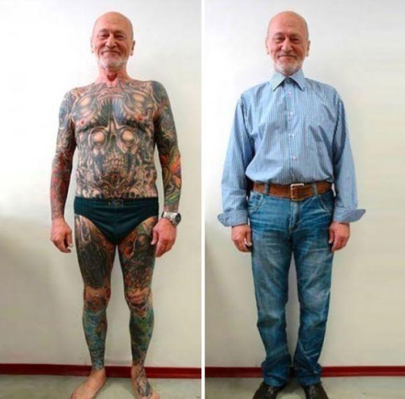 Pessoas mais velhas com tatuagem 19