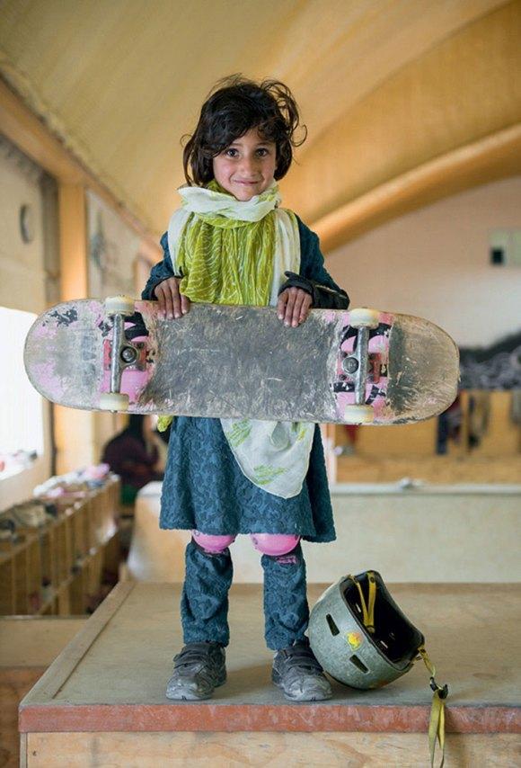 Garotas Skatistas Afeganistão 1