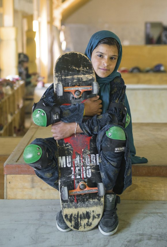 Garotas Skatistas Afeganistão 2