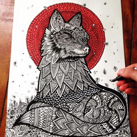Ilustrações de artista brasileiro 10