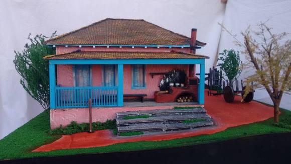 Miniaturas de cenários mineiros - maquetes de Minas Gerais 19
