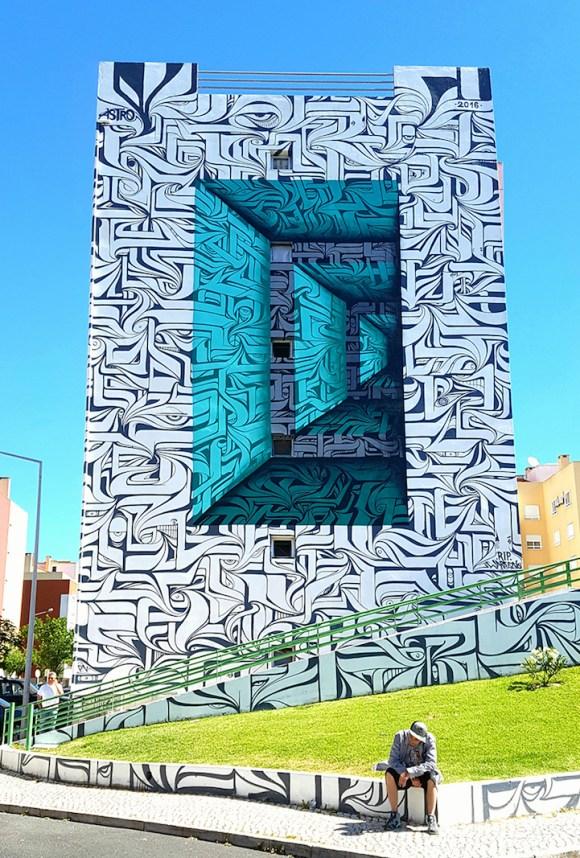 Grafite 3D parece portal 3