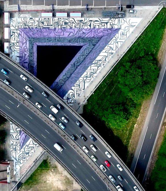 Grafite 3D parece portal 6