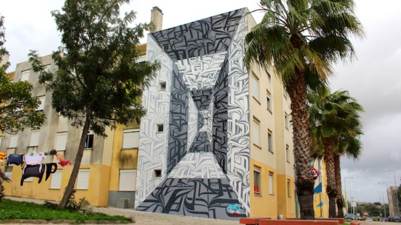 Grafite 3D parece portal 9