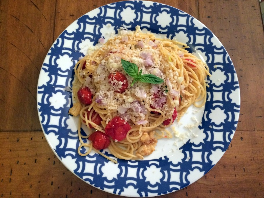 Recipe Review: Spaghetti with Roasted Tomatoes - Some Shananagins