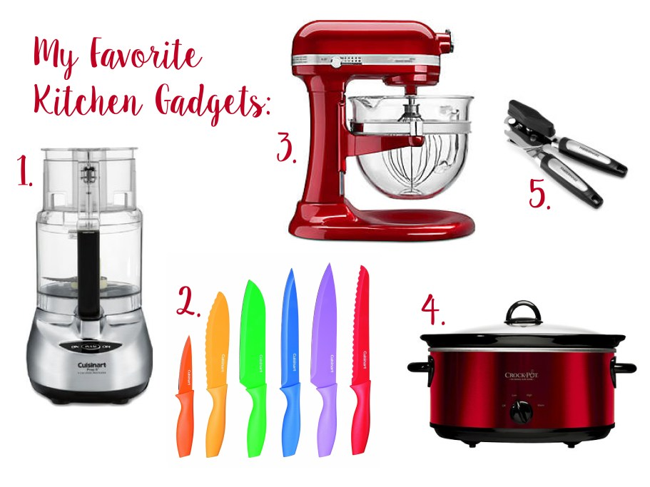 5 Kitchen Gadgets I Cannot Live Without - Some Shananagins