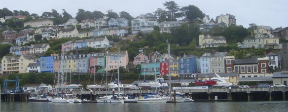 and colourful houses.
