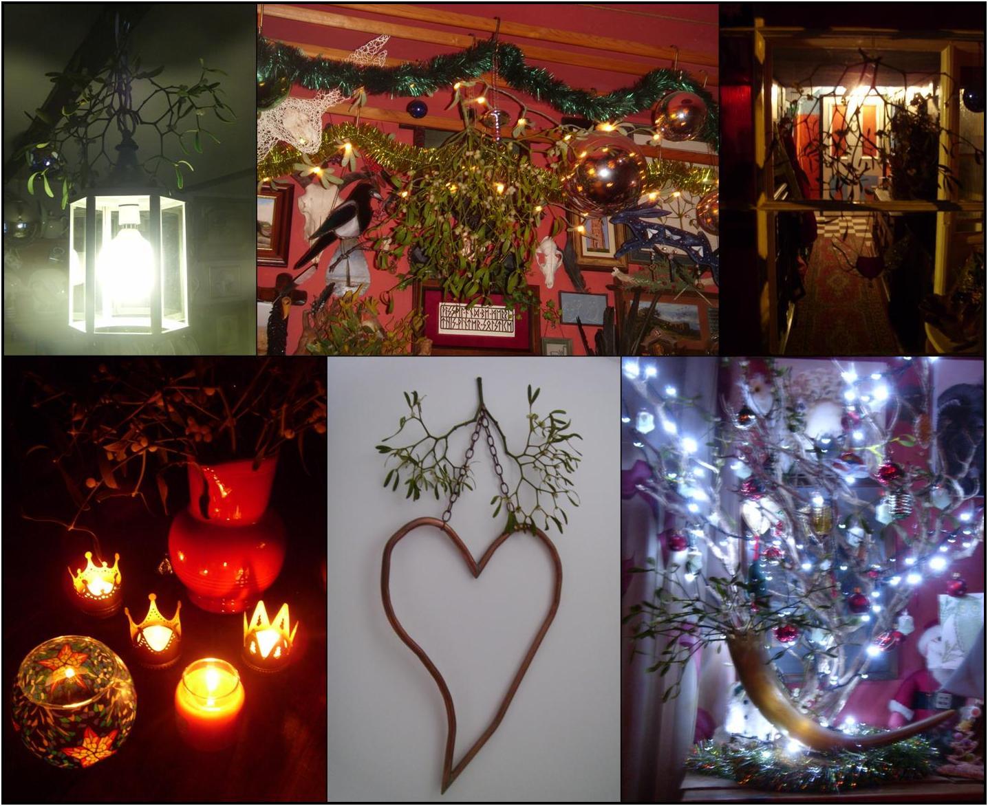 Mistletoe Christmas Decorations  Something About Dartmoor