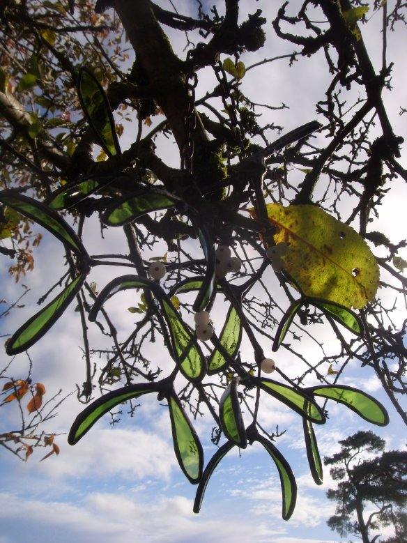 Stained Glass Mistletoe - Something about Dartmoor