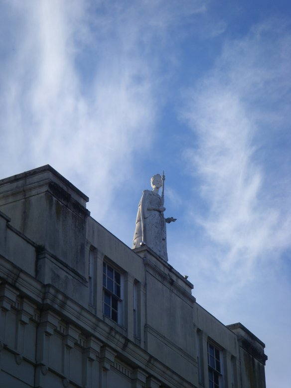 queen-victoria-atop-marks-spencer-building-exeter-something-about-dartmoor