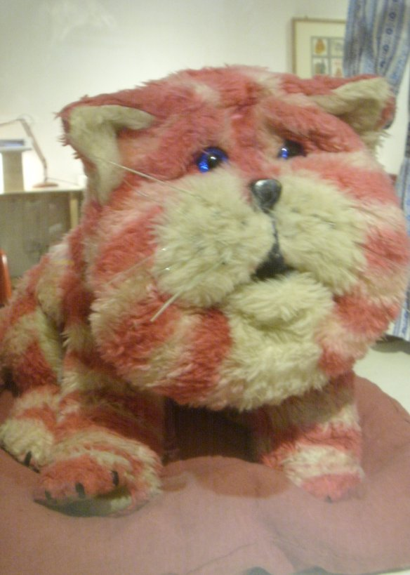 Bagpuss at the Burton Art Gallery Bideford. Something about Dartmoor