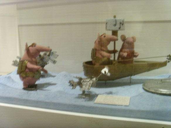 ST833095 Clangers at Burton Art Gallery Bideford. Something about Dartmoor