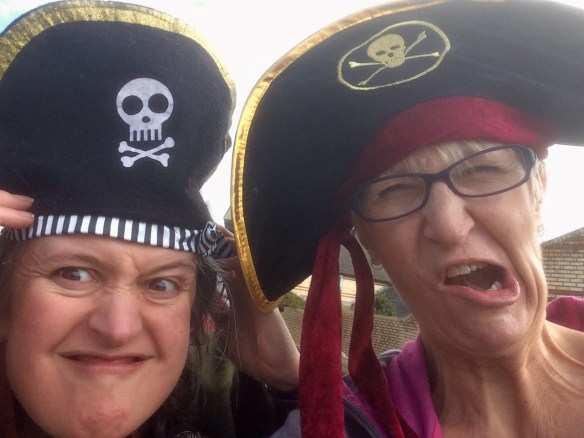 Wednesdays are always a guaranteed giggle when first mate - Sallykins volunteers for the day.