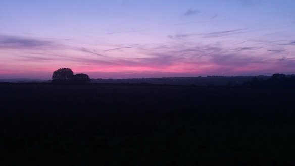 Schiaparelli Sunset 16th June 2017 - Something about Dartmoor