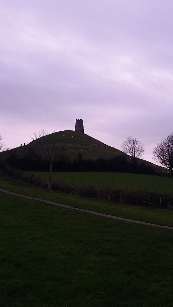 Glastonbury Tor.