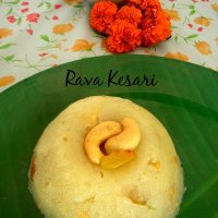 Quick and Easy Rava Kesari