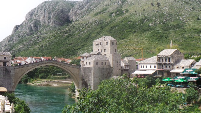 The famed Old Bridge in Mostar