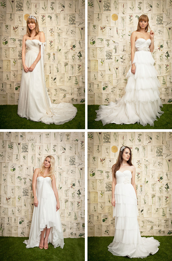 Ivy & Aster Fall 2011 Bridal Collection