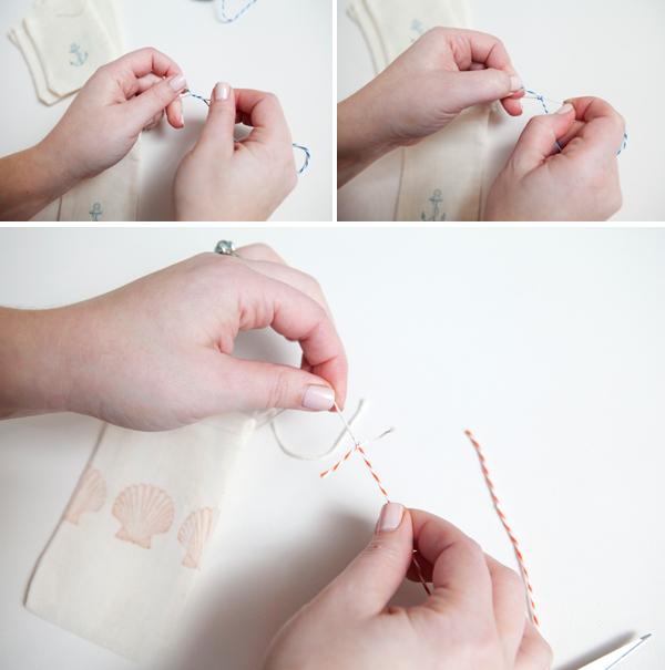 how to make muslin bags