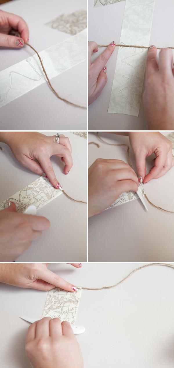 DIY bunting banner