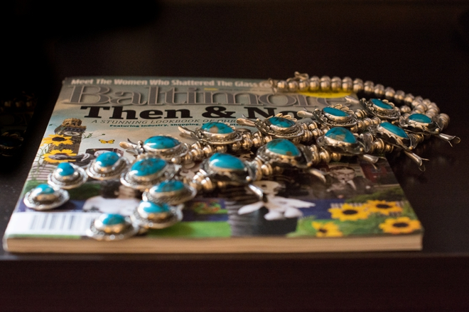 Vintage turquoise necklace...