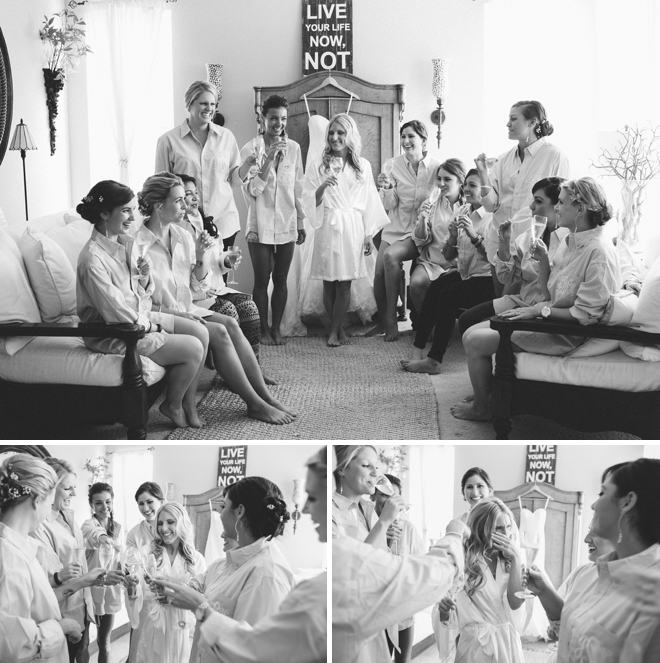 Getting ready on the morning of your wedding is the greatest!