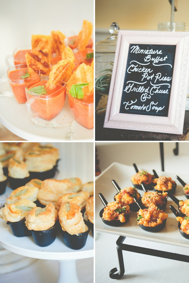 Adorable gourmet mini-appetizers