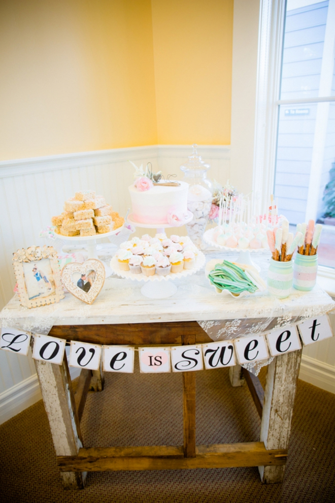Love is Sweet, dessert table
