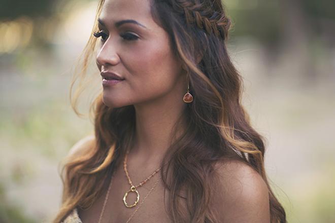 Gorgeous braided wedding hair style