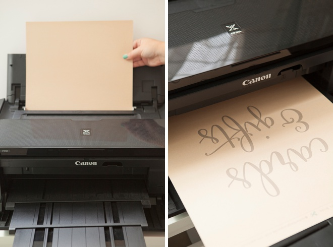 Print your wedding signs easily with the Canon PIXMA iP8720 Crafting Printer!