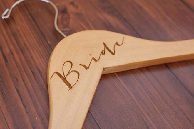 Adorable bride hanger